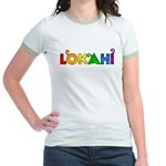Rainbow Lokahi Jr. Ringer T-Shirt