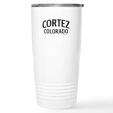 Cortez Colorado Travel Mug