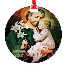 St Joseph Guardian of Jesus Ornament