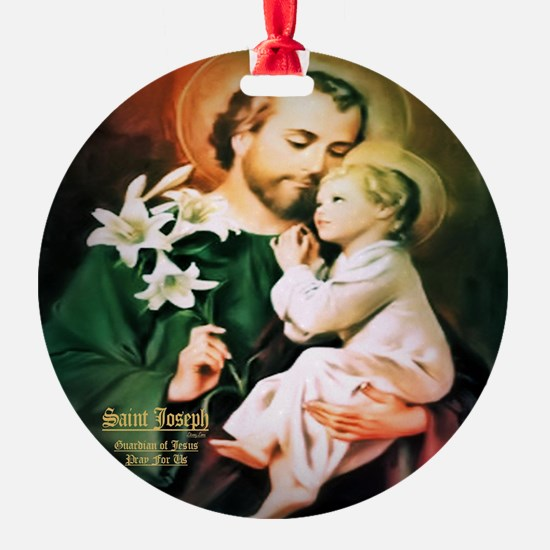 St Joseph Guardian of Jesus Ornament