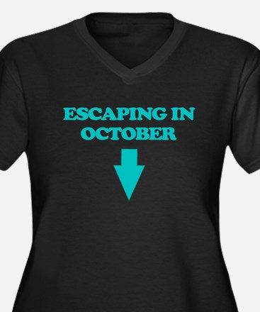 ESCAPING IN OCTOBER Plus Size T-Shirt