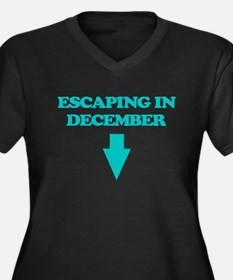 ESCAPING IN DECEMBER Plus Size T-Shirt