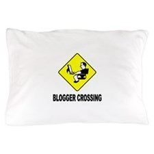 Blogger Crossing Pillow Case