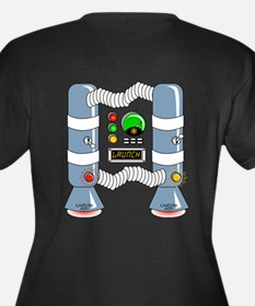Robot Shirt Back.png Plus Size T-Shirt