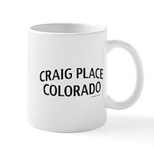 Craig Place Colorado Mug