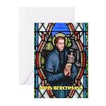 Saint John Berchmans Greeting Cards (Pk of 20)