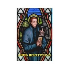 Saint John Berchmans Rectangle Magnet