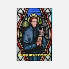 Saint John Berchmans Rectangle Magnet