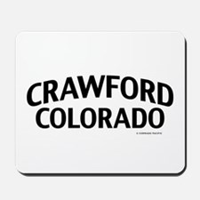 Crawford Colorado Mousepad