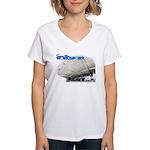 Worldport Special Edition Women's V-Neck T-Shirt