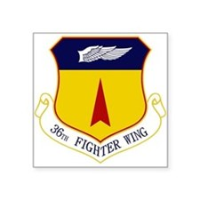 "36th FW Square Sticker 3"" x 3"""