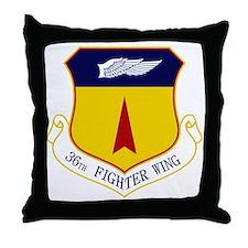 36th FW Throw Pillow