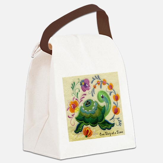 ODAT One day at a time Canvas Lunch Bag