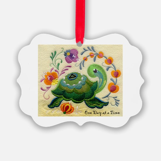 ODAT One day at a time Ornament