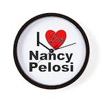 I Love Nancy Pelosi Wall Clock
