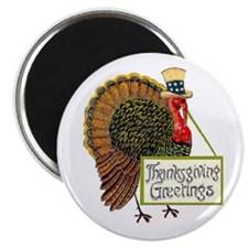 "The Turkey #2 - 2.25"" Magnet (100 pack)"