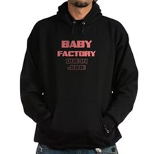 BABY FACTORY DUE IN JUNE PINK FUNNY MATERNITY Hood