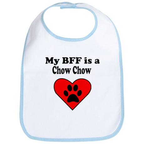 My BFF Is A Chow Chow Bib