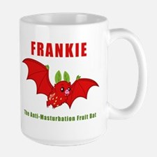 Frankie The Anti-Masturbation Fruit Bat Mug