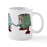 Robots Standard Mugs (11 Oz)