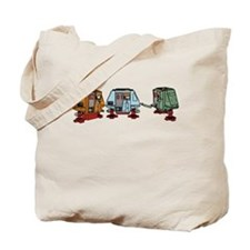 Silent Huey, Dewey and Louie Tote Bag