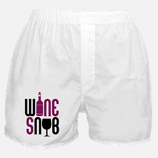 Wine Snob Boxer Shorts