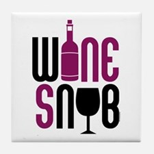 Wine Snob Tile Coaster