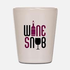 Wine Snob Shot Glass