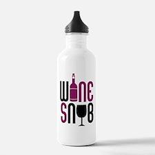 Wine Snob Water Bottle