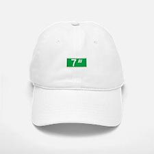 7th Ave., New York - USA Baseball Baseball Cap