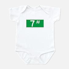 7th Ave., New York - USA Infant Bodysuit