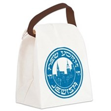 New York Jewish American Canvas Lunch Bag