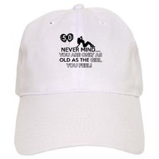 Funny 50 year old designs Baseball Baseball Cap