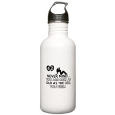 Funny 42 year old designs Water Bottle
