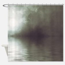 Clouds-Grey-Storm Shower Curtain
