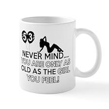 Funny 53 year old designs Mug