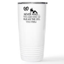 Funny 54 year old designs Travel Mug