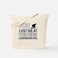 Vector Lawnbowling designs Tote Bag