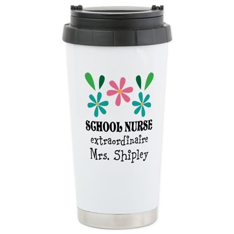 CafePress School Nurse Personalized Gift Mugs