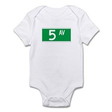 5th Ave., New York - USA Infant Bodysuit