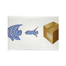 Big Fish Little Fish Rectangle Magnet