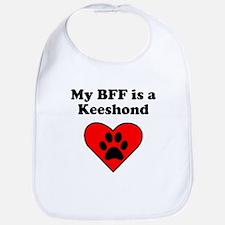 My BFF Is A Keeshond Bib