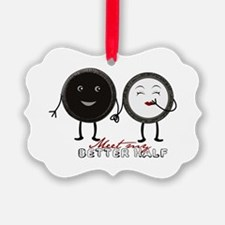 Cookie Couple Ornament