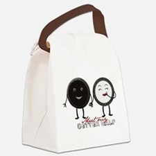 Cookie Couple Canvas Lunch Bag