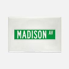Madison Ave., New York - USA Rectangle Magnet