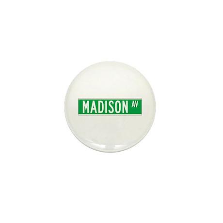 Madison Ave., New York - USA Mini Button (100 pac