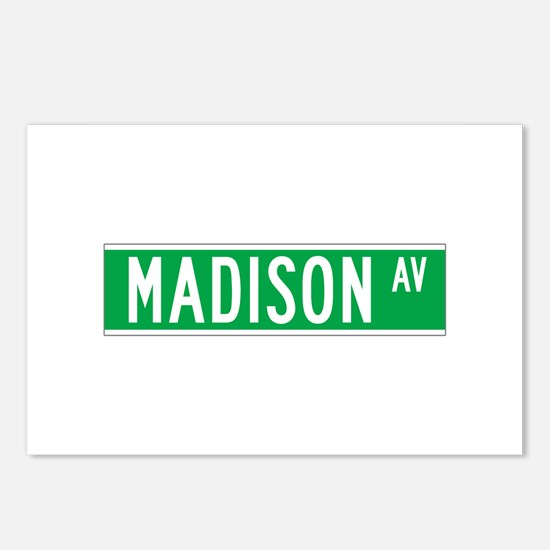 Madison Ave., New York - USA Postcards (Package o