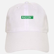 Madison Ave., New York - USA Baseball Baseball Cap
