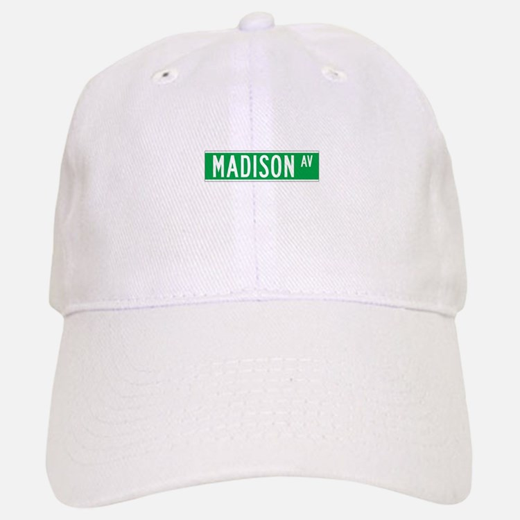 Madison Ave., New York - USA Baseball Baseball Cap