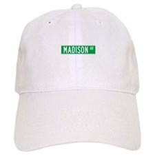 Madison Ave., New York - USA Baseball Cap